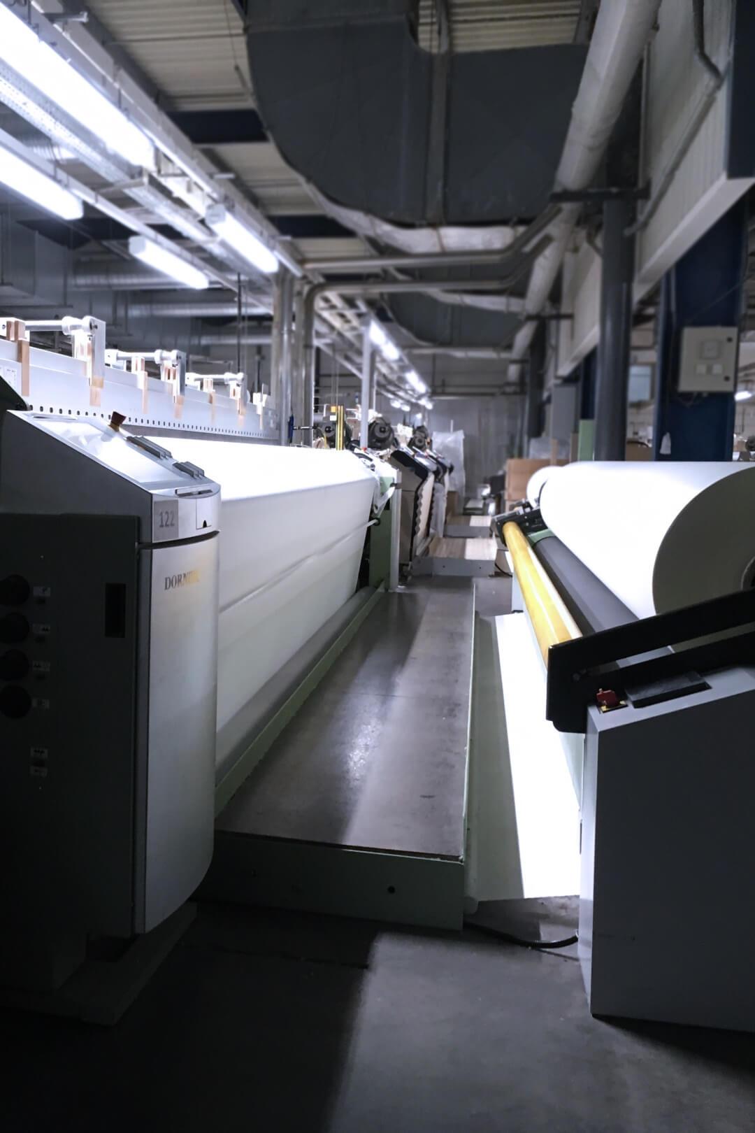 Tissage Robert Blanc industrie textile