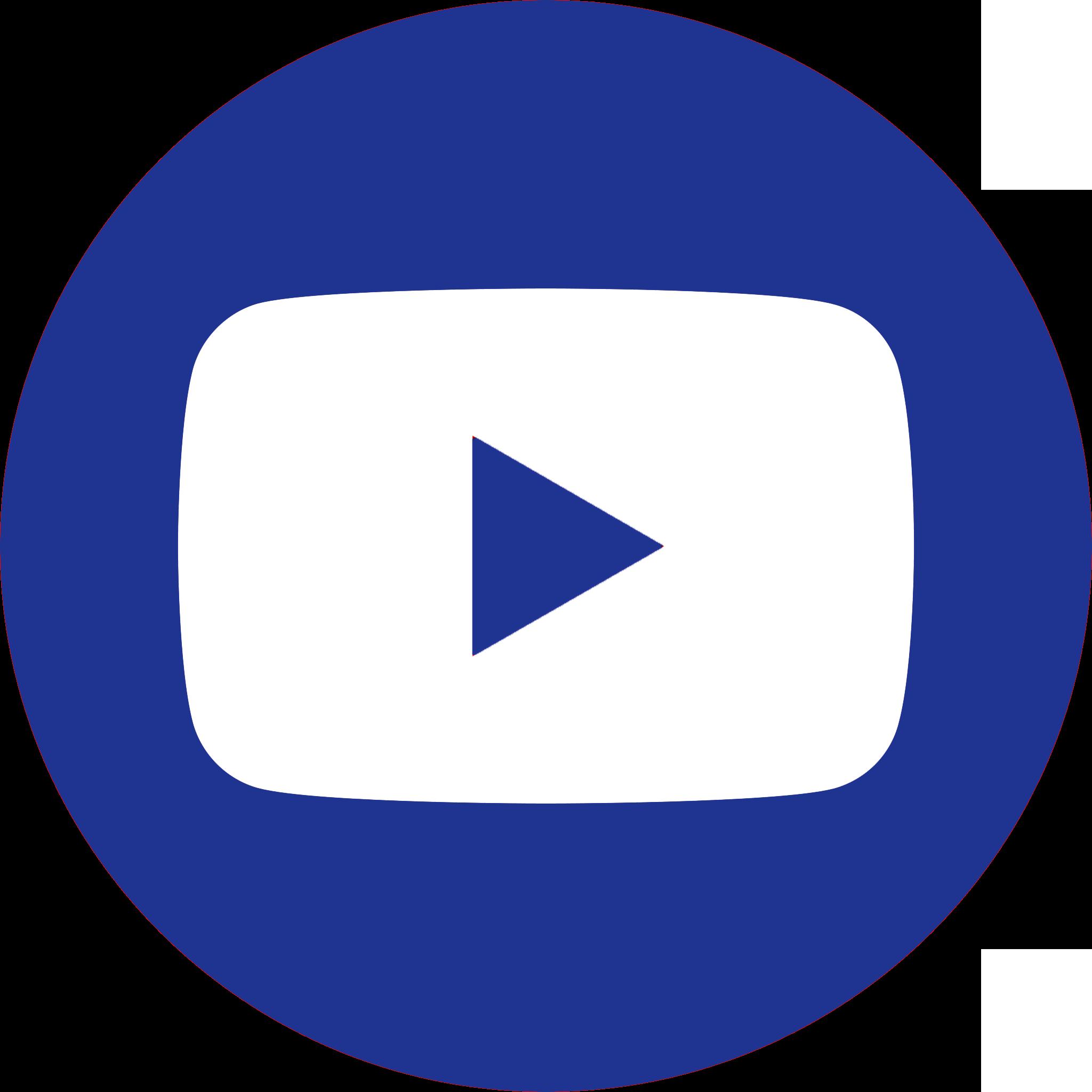 YouTube bleu